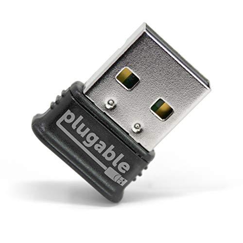 Plugable Technologies USB-BT4LE Bluetooth-Karte und Netzadapter (kabellos, USB, Bluetooth, Schwarz, Silber).