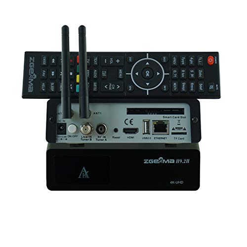 ZGEMMA H9.2H mit DVB-S2X+DVB-T2 / C Dual WIFI E2 4K UHD Combo Receiver