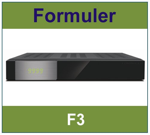 Formuler F3 Full HD TV Linux Enigma 2 E2 Receiver STB / Neu