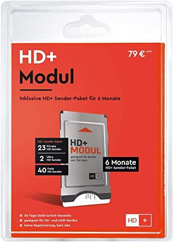HD+ Modul inkl. HD+ Sender-Paket für 6 Monate gratis