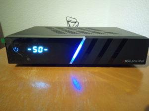 AX 4K-Box HD61 Front Bootvorgang