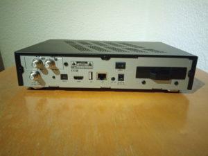 AX 4K-Box HD61 Rückseite