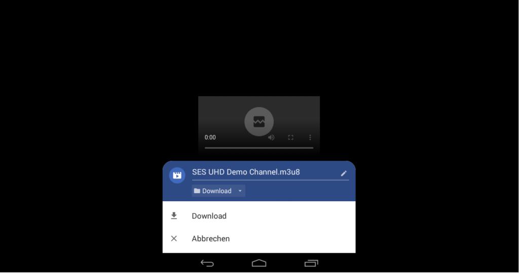 AX 4K-Box HD61 Transcoding m3u8-Datei heruntergeladen