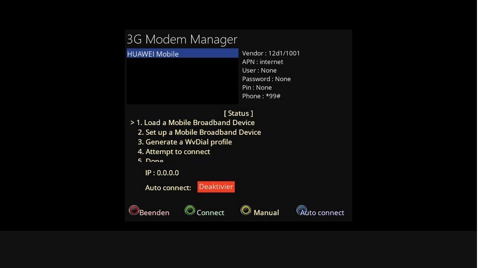 3G/4G Modem Manager