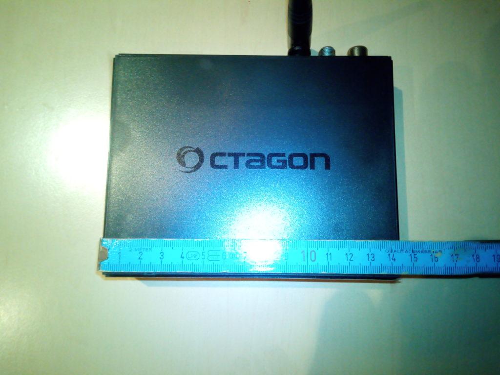 OCTAGON SF8008 Mini 4K Abmessung Breite