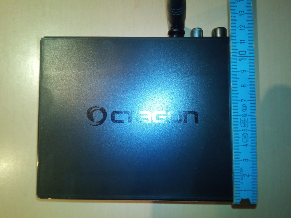 OCTAGON SF8008 Mini 4K Abmessung Tiefe