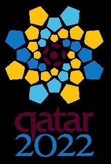 Fußball WM 2022 Katar Logo