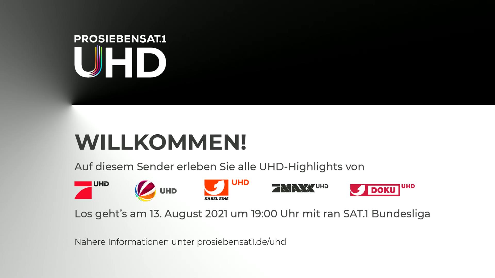 Pro7Sat.1 UHD Programminfo